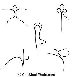 Yoga-Sketch
