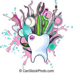 Zahninstrumente.