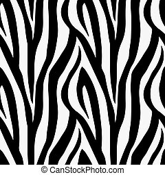 Zebra-Tierdruckmuster nahtlos Fliesen.