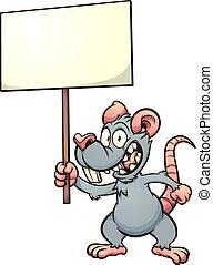 zeichen, ratte