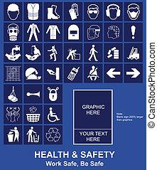 zeichen, sicherheit, gesundheit