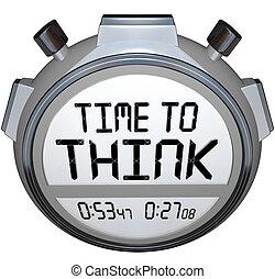 zeitgeber, kreativ, gedanke, zeit, stoppuhr, denken