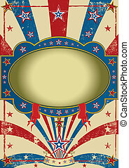 Zirkus Vintage-Poster