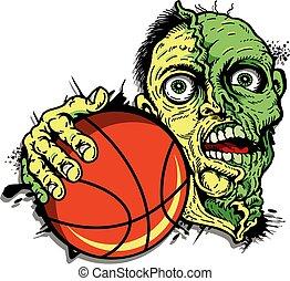 zombie, basketball