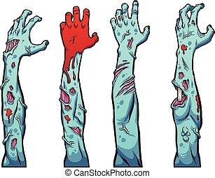 zombie, hände