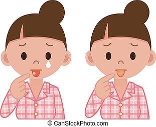 Zungenkrankheiten