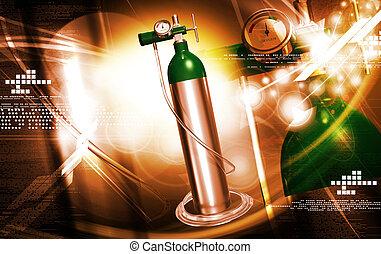 zylinder, sauerstoff